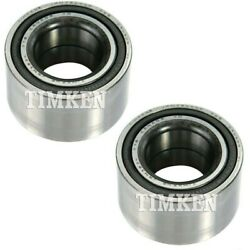 Set-tmset35 Timken Set Of 2 Wheel Bearings Front Or Rear Driver And Passenger Pair