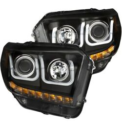 111318 Anzo Headlight Lamp Driver And Passenger Side New Lh Rh For Toyota Tundra