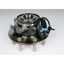 Fw338 Ac Delco Wheel Hub Front Driver Or Passenger Side New 4wd 4x4 For Chevy