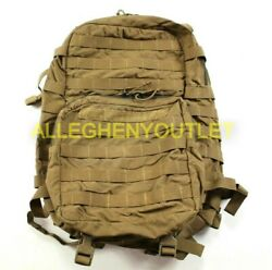 Eagle Industries Usmc Filbe Assault Pack Coyote Tan Damaged / Washed