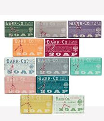 Barr Co Soap Shop Bar Soap 12 Scent Gift Box by k. hall designs