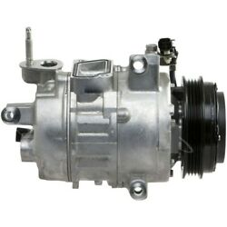 198356 4-seasons Four-seasons A/c Ac Compressor New With Clutch For Ford Fusion