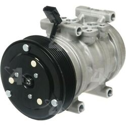 58385 4-seasons Four-seasons A/c Ac Compressor New With Clutch For Ford Mustang