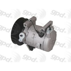 6512105 Gpd A/c Ac Compressor New With Clutch For Nissan Frontier Xterra 02-04