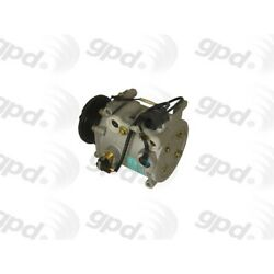 6512072 Gpd A/c Ac Compressor New With Clutch For Mitsubishi Eclipse Galant
