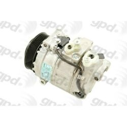 6512104 Gpd A/c Compressor New For Mercedes C Class Cl E G S Sl Slk With Clutch