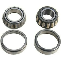 Set-ce41091003-f Centric Set Of 2 Wheel Bearings Front Or Rear New For C10 Pair