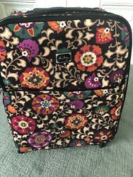 Vera Bradley Susani Retired Stunning Large Roller Suitcase Top Quality Excellent