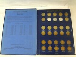 United States Lincoln Cents 1941-1958 51-coin Penny Collection W/ Whitman Album