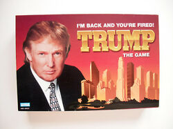 I'm Back And Your Fired Trump The Game Finance, Money And Investing Board Game
