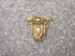 14k Gold And Co. Makers 1918 Usma United States Military Academy Pin