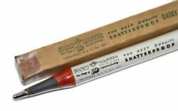 Vintage Farm Master Shatterproof Glass Dairy Thermometer 9041 W/ Box Excellent