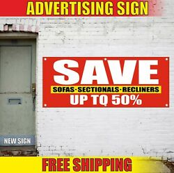 Sofas Sectionals Recliners Banner Advertising Vinyl Sign Flag Sale Save Up To