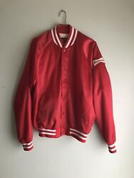 Vintage 1980's Budweiser Anheuser Bush A And Eagle Collection Jacket Size Xlrare