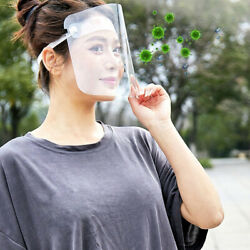 Full Face Covering Dust-proof Safety Shield Tool Cover Clear Glasses Eye Protect