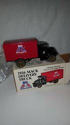 Vintage Ertl 1926 Mack Delivery Truck Bank Big A Auto Parts Vehicles Collectable