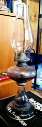 Vintage/antique Finger Oil Lamp No. 1 Queen Anne Made By Scovill Mfg Co Usa