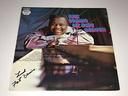 Fats Domino Rare Signed Autographed Vinyl Record New Orlean Jazz Free Shipping