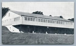 Bellville Oh E. And R. Camp For Ohio The Lodge 1958 Vintage Postcard
