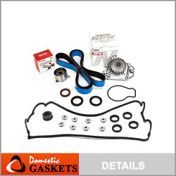 Fit 92-95 Acura Honda 1.6 1.7 B16a3 B17a1 Timing Belt Kit Water Pump Valve Cover