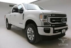 2020 Ford F-350  2020 Navigation Sunroof Heated Leather Bluetooth V8 Diesel Vernon Auto Group