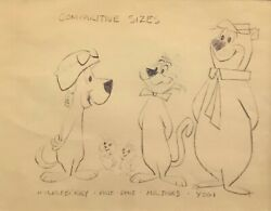 Hanna Barbera Model Sheet From The Huckleberry Hound Show