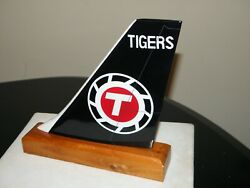 Flying Tigers Wood Tail Model Airplane Fedex Atlas Air Freight Pilot Desk Gift