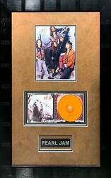 Pearl Jamsigned And Custom Framed Display By All W/coaronald Mcdonald Charity