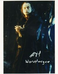 Brad Dourif Lord Of The Rings / Childs Play Autograph Aftal And Uacc 'choice Of 4'