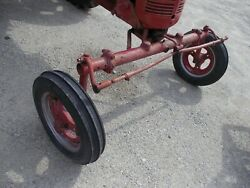 Farmall Ih C Super C Tractor Wide Frontend Widefront W/ Front Tires And Rims