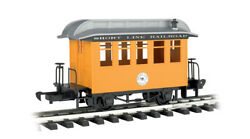 Bachmann G Scale 97097 Short Line Railroad Yellow Track Cleaning Passenger Car