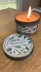 Light Scented Emerald Agrave Candle