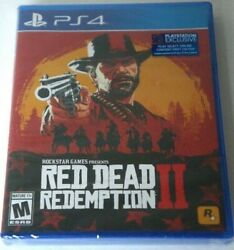 2 Red Dead Redemption 2 Rdr2 2018 New Factory Sealed Ps4 Video Game Hype Label