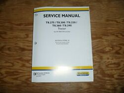 New Holland T8.275 T8.300 Tractor Electrical Wire Harness Service Repair Manual