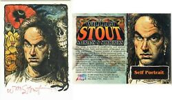 William Stout - Saurians And Sorcerers - Autograph Card