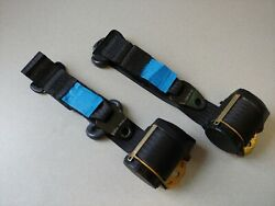 Very Nice Pair Used Original Genuine Porsche 911 964 Automatic Front Seat Belts