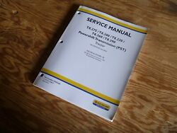 New Holland T8.390 Pst Tractor Electrical Wire Harness Service Manual Zcrc02583-