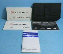 08 2008 Dodge Caliber Srt4 Owners Manual With Multi Media