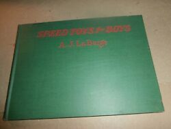 Antique 1928 Book Speed Toys For Boys A J Laberge Carts Pedal Cars Bike Plans