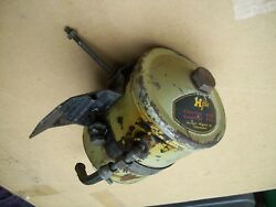 Porsche 356 Oil Filter Canister, Housing With Bracket Nuts Bolts Clamp And Spring
