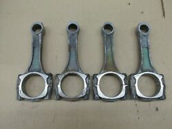 4 - Big Block Chevy Bbc 427 L88 Zl1 Gm Green Tinted Tin Coated 7/16 Dimple Rods