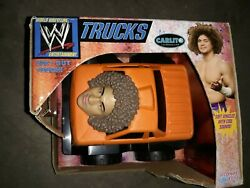 Wwe Trucks - Carlito Truck - Electronic Planet Toys 2006 New Vintage Rare