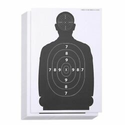 50X Shooting Targets For Pistol Rifle For The Range Paper Target BB Gun 17x25quot;