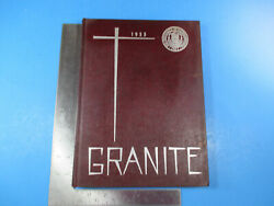 1955 University Of New Hampshire Granite Yearbook Durham Nh 299 Pages