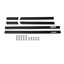 Body Side Moulding Trim For 92-98 Bmw E36 M3 Style 3-series Sedan 4 Door Only)
