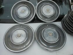 1968 Cadillac Hubcaps 1969 Wheel Covers 15 1967 1970 Fleetwood Deville