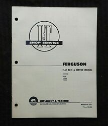 1953 Ford Ferguson Te20 To20 To30 Tractor I And T Service Shop Repair Manual