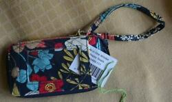 Vera Bradley Happy Snails All in one Wristlet Wallet New with tags