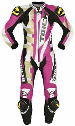 Rs Taichi Ladies / Womenand039s Motorcycle Road Race Leather Suit - Small Sizes