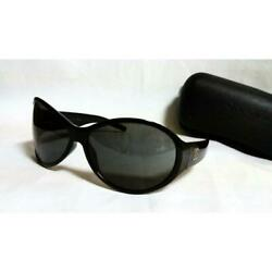 Auth Super Rare Sunglasses Black Completely Discontinued Model Out 331/tm